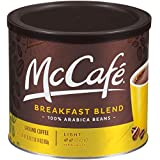 McCafé Breakfast Blend Ground Coffee, 30 oz Canister