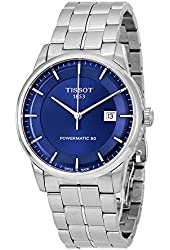 Tissot Men's T0864071104100 Analog Automatic Silver-Toned Stainless Steel Watch