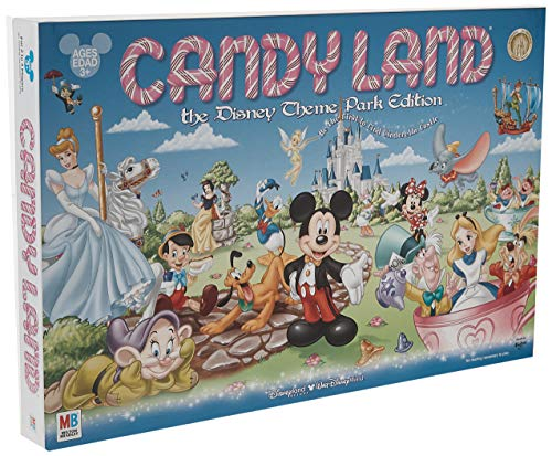 Disney Parks Exclusive Candyland Theme Park Edition Game (Candyland The Kingdom Of Sweets Board Game)