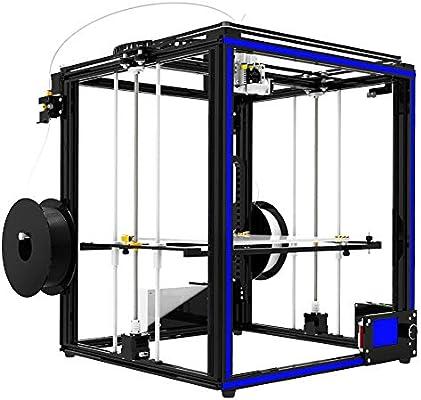 Metal FDM 3D Impresora Dual estrusore DIY Kit Calidad CNC ...