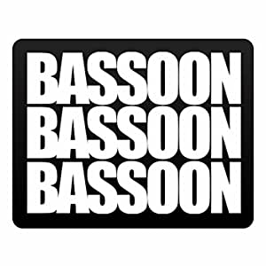 Eddany Bassoon three words Plastic Acrylic