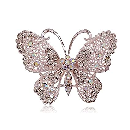 a34c46704cf Amazon.com: 2019 New Crystal Insect Brooches Brooch Pin Badge Emblem ...