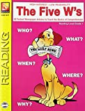 img - for The Five W's (Reading Level 1) | Reproducible Activity Book book / textbook / text book