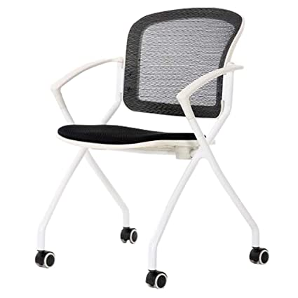 Amazon.com: XHLZDY Folding Chair, Training Chair Conference Chair ...