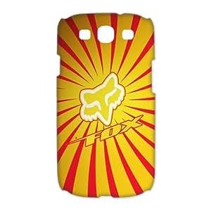 Custom Design Fox Racing Wild Color SamSung Galaxy S3 I9300/I9308/I939 Full Case 3D