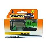 Matchbox Mattel Wheels #6 Excavator 1:64 Scale Green Diecast Car Replica