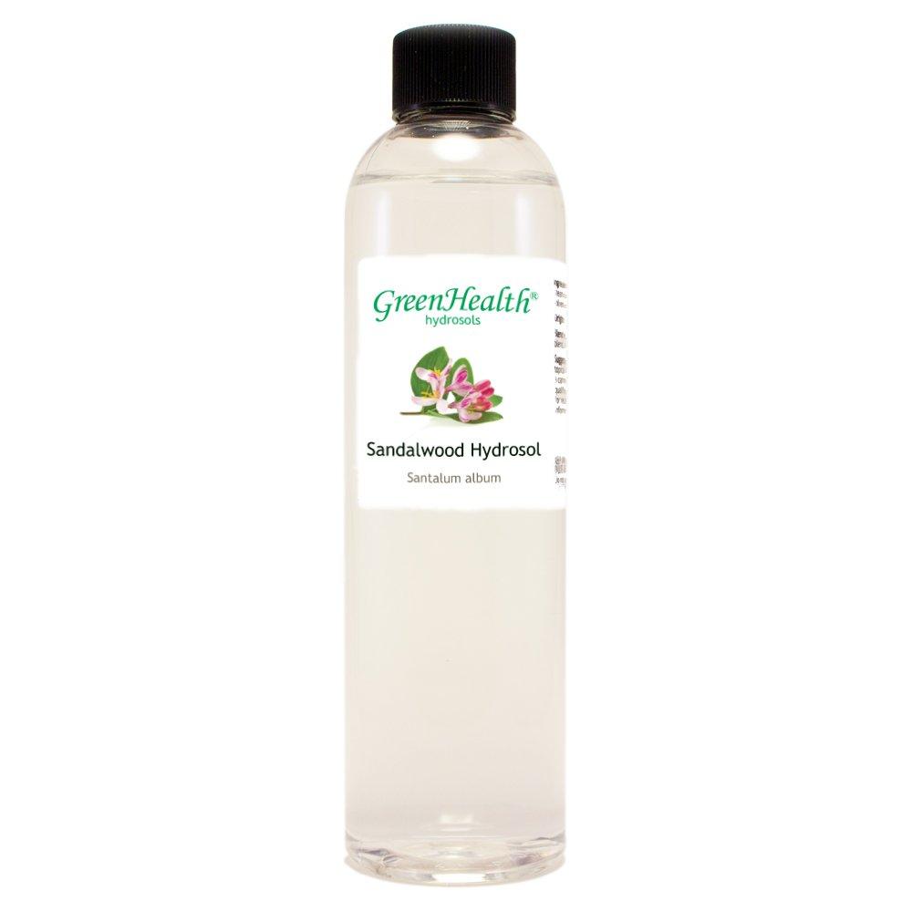 Sandalwood Hydrosol - 16 fl oz Plastic Jug w/Cap - 100% pure, distilled from essential oil Wfmed