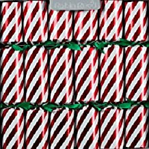 Robin Reed Christmas Holiday 8 pcs Party Crackers - Candy Cane 156