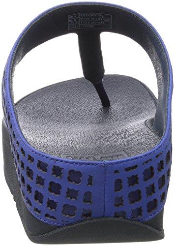 Azul Royal 043 Chanclas Mujer Fitflop E92 Blue qwxITtYHz