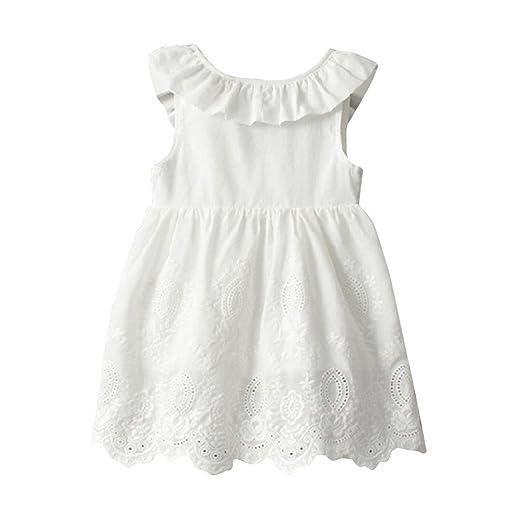 Amazon com: Kimanli Girls Dress Toddler Kids Baby Princess