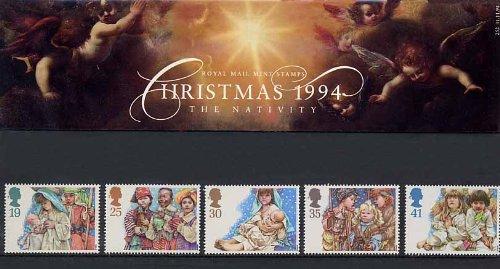 1994 Timbri di Natale, in confezione regalo Royal Mail 252