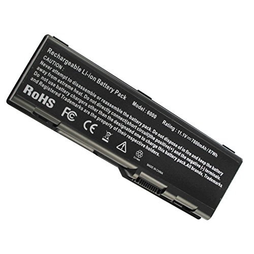 Fancy Buying Inspiron 6000 Precision M6300, Precision M90 Laptop Battery for Dell 312-0425 312-0429 312-0455 G5260 G5266 U4873 Y4873 YF976 - 12 Months Warranty (9 Cells 11.1V 7800mAh) - 0349 Li Ion Battery