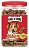 Milk-Bone Soft and Chewy Chicken 12 Vitamins and Minerals Recipe Healthy and Delicious Dog Snacks (25 oz) For Sale