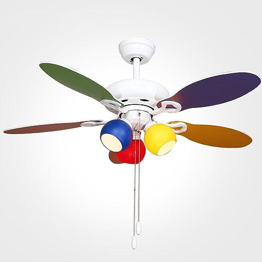 Ventilador de Techo de 42 Pulgadas Luz Simple Moderna Ventilador ...