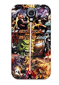 Margaret Dayton's Shop 2958996K51194082 Top Quality Case Cover For Galaxy S4 Case With Nice Marvel Appearance