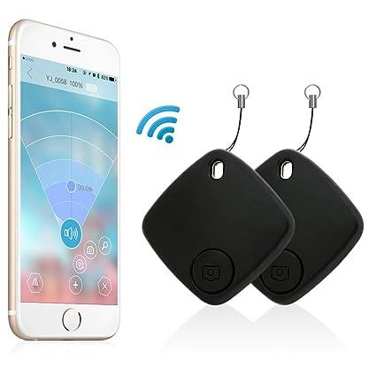 Gps Phone Locator >> Amazon Com Key Finder Effeltch Tracker Smart Key Phone Wallet