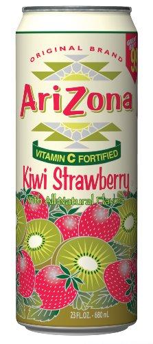 Arizona Kiwi Strawberry, 23-Ounce (Pack of 24)