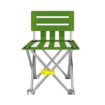 Silla al Aire Libre, Silla Plegable cómoda Verde cómodo ...