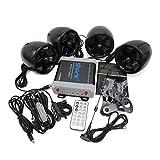 Shark Shkc7800 1400 Watt 4.1 Ch Motorcycle Audio