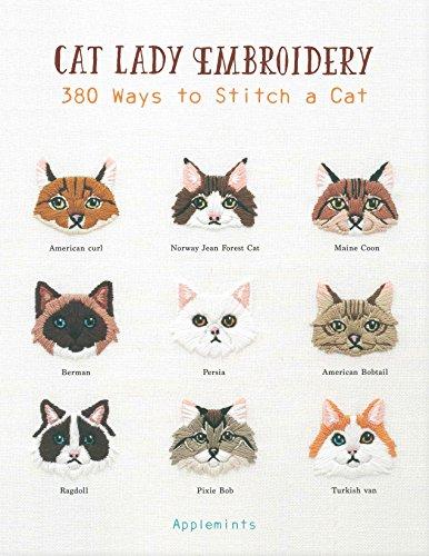 Halloween Cross Stitch Patterns Online (Cat Lady Embroidery: 380 Ways to Stitch a)