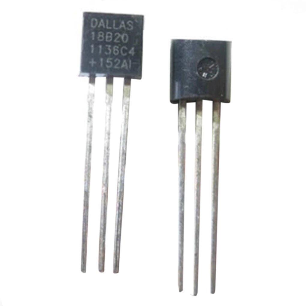 Ben-gi 1PC Dallas 18B20 DS18B20 TO-92 Wire Digital Temperatura del term/ómetro IC Sensor