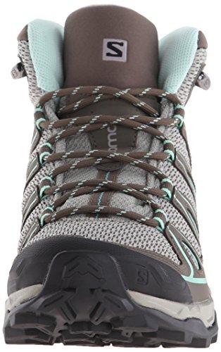 Mid Boot Opaline Aero Swamp X Titanium W Salomon Women's Ultra Blue Hiking 7xU11n