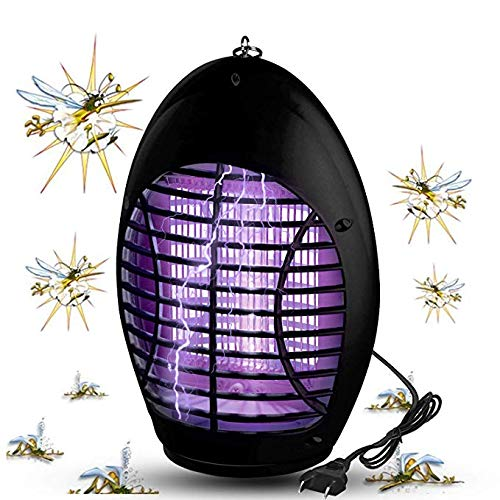 Tukear Bug Zapper, Electronic Mosquito Trap, Portable Standing or Hanging for Home, Indoor, Bedroom, Kitchen, Office