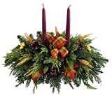 thanksgiving table centerpieces Fernhill Holly Farm Advantage Thanksgiving Centerpiece, Green