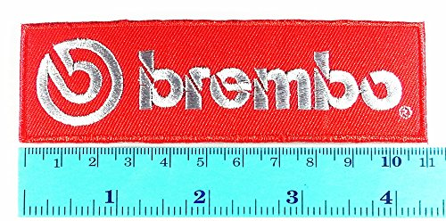 Brembo Disc Brake Car Motorcycles Racing Biker Logo Jacket T- Shirt Patch Sew Iron on Embroidered Symbol Badge Cloth Sign