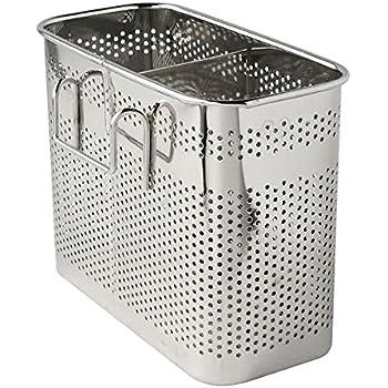 Amazon.com - Utensil Drying Rack, 3 Compartments, Chrome