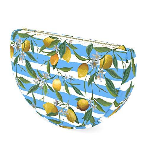 Somersby - Purse Insert Organizer - Arc Liner Bag for Bamboo Handbag (Lemon)