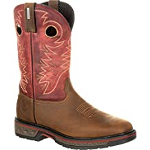 Georgia Men's Alloy Toe Carbo-Tec Waterproof Pull On Boots