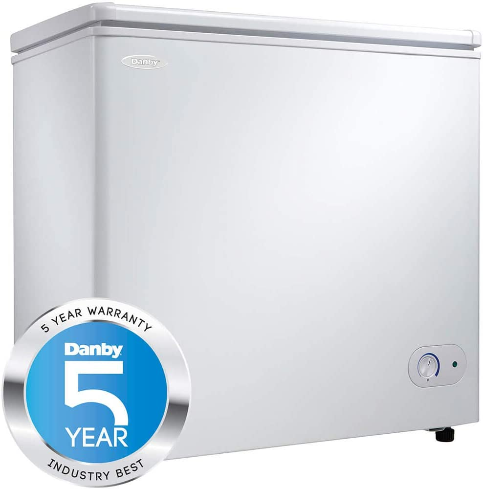Danby 5.5 Cu. Ft. Chest Freezer,White