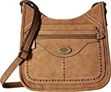 b.o.c. Womens Blemrock Scoop Crossbody Saddle One Size