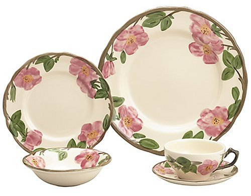Franciscan Desert Rose 20-Piece Dinnerware Set, Service for - Set Rose Desert