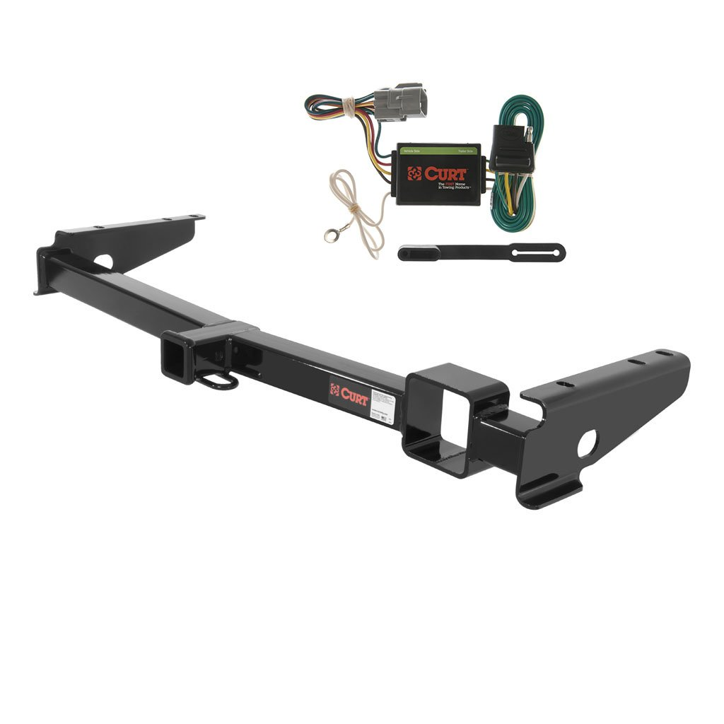 CURT Class 3 Trailer Hitch Bundle with Wiring for Lexus LX470, Toyota Land Cruiser - 13443 & 55365 by Curt