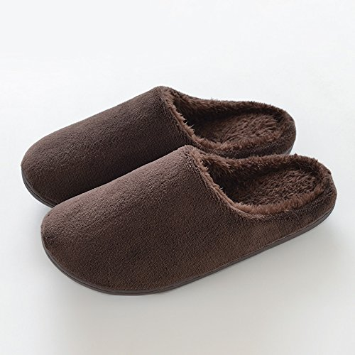 Zapatillas Xl Permeable tamaño 43 Hombres Womenbrown Habitación Modelos Blando Para Choque De Invierno Interior Que Recomendado Masculinos Laxba El 44 Y Absorbe Yardas código Los qH8BOnwtR