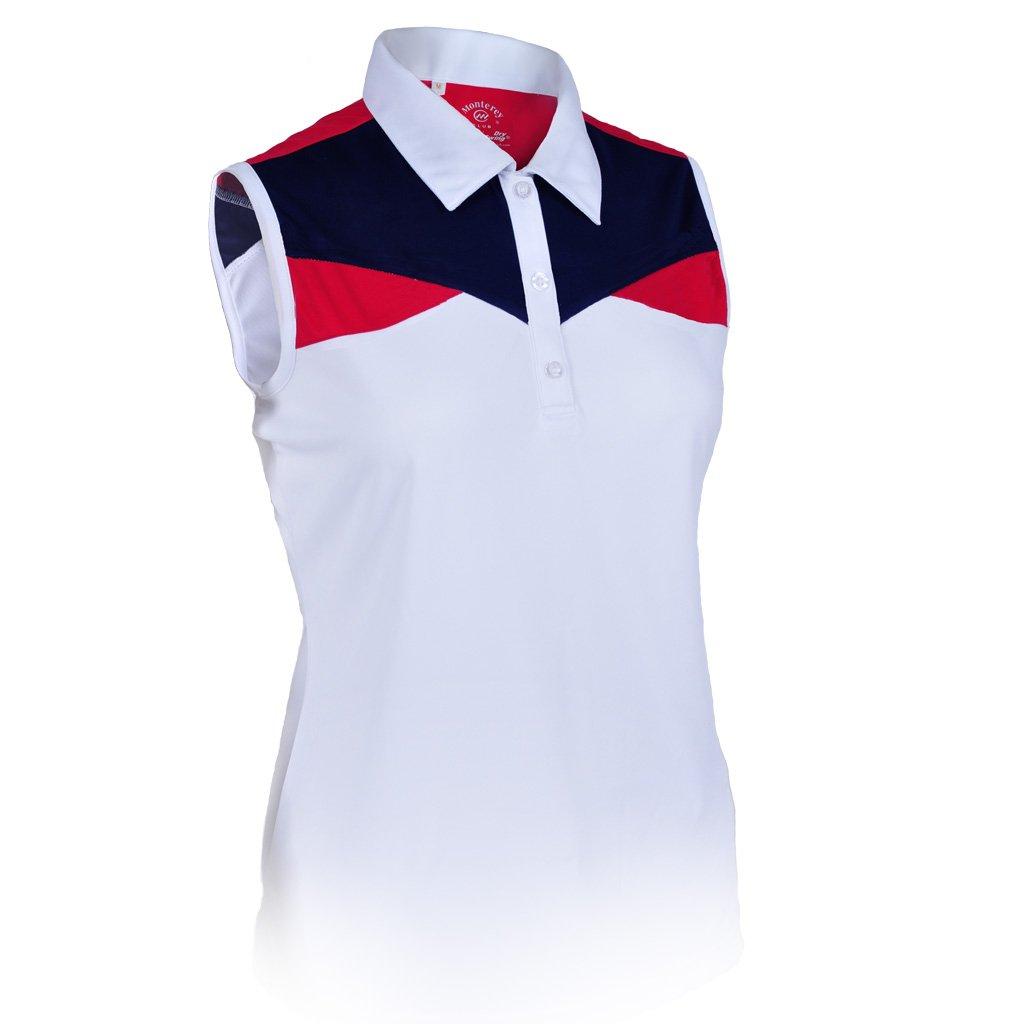 Monterey Club Ladies Dry Swing Sleeveless Pride Insert Shirt #2336