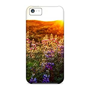 Iphone Cases - Cases Protective For Iphone 5c- The Lupines At Sunset