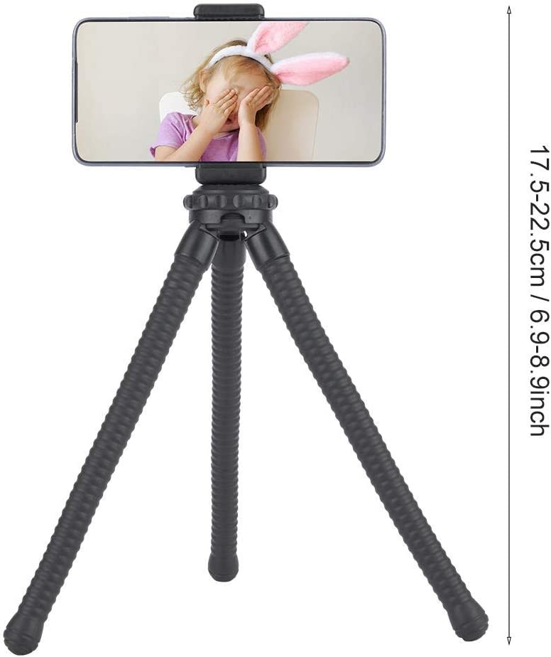 Mugast Flexible Camera Tripod Portable and Adjustable Camera Stand Holder with 360/°Rotating Suitable for Shooting