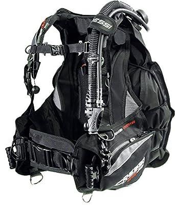 Cressi Back Jac Elite Buoyancy Compensators - Black/Grey, Medium by Cressi