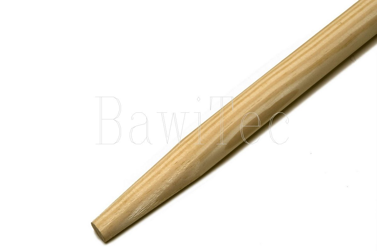 Broom handle, utility handle, 140  cm, 160  cm, 200 cm Bawitec wooden handle, 28  mm, broom, handle, 140 cm 140 cm 160 cm 28 mm BawiTec-Badewien