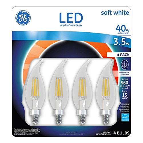 Ge Led Candelabra Light Bulbs