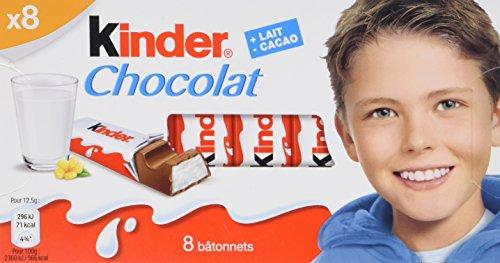 Amazon.com : Kinder Chocolate 100g : Chocolate Candy : Grocery ...