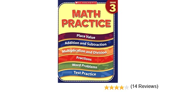 Math Worksheets free printable math worksheets 5th grade : Amazon.com: 3rd Grade Math Practice (Practice (Scholastic ...