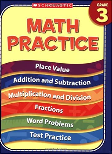 Math Worksheets 3rd grade free math worksheets : Amazon.com: 3rd Grade Math Practice (Practice (Scholastic ...