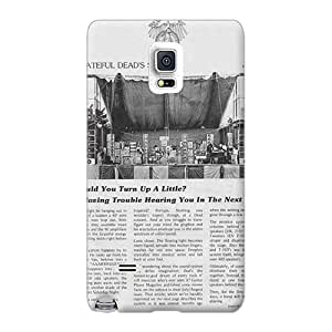 Sumsang Galaxy Note 4 RLA18815rKeC Customized Attractive Grateful Dead Pattern Shock-Absorbing Cell-phone Hard Covers -CristinaKlengenberg