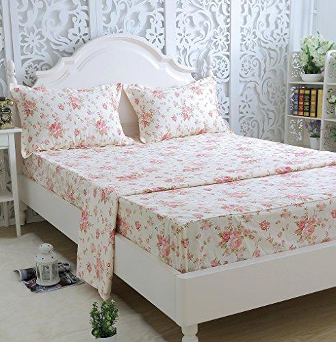 Brandream Romantic Girls Bedding Sheets Set Adults Kids Bed Sheet Set Twin  Size