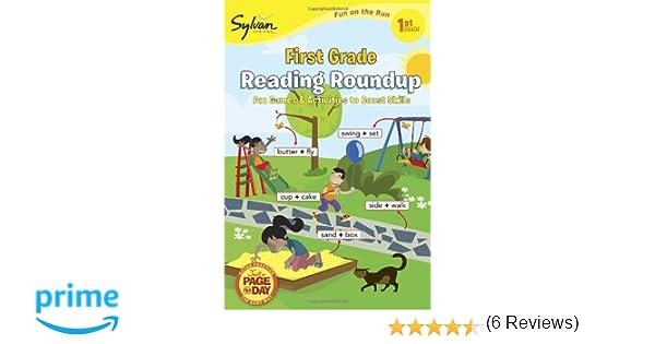 Workbook christmas grammar worksheets : Amazon.com: First Grade Reading Roundup (Sylvan Fun on the Run ...