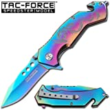 AO TITANIUM RAINBOW DRAGON RESCUE KNIFE